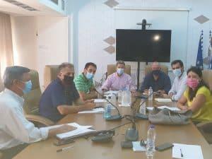 Συνάντηση για την πορεία υλοποίησης αθλητικών έργων Μεσσηνίας