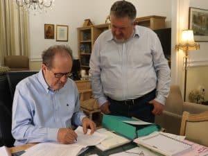 Υπογράφηκε η σύμβαση για τις μελέτες της παράκαμψης της Γιάλοβας, στη Μεσσηνία