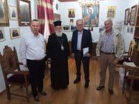 Συνάντηση του περιφερειάρχη Π. Νίκα με τον Μαντινείας και Κυνουρίας Αλέξανδρο