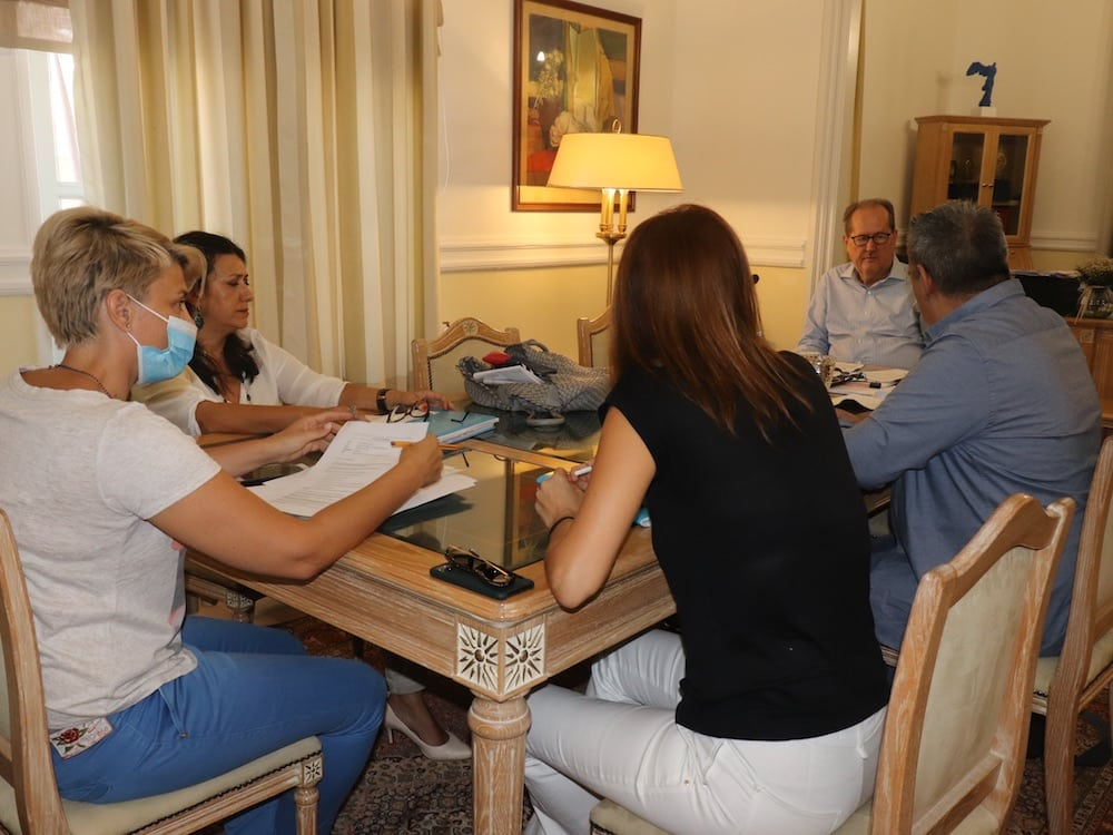 Δημοσιογράφοι από τη Γερμανία και το Ηνωμένο Βασίλειο στην Περιφέρεια Πελοποννήσου