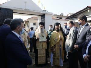 Στην υποδοχή της εικόνας της Παναγίας του Βουλκάνου στη Μεσσήνη παρέστη ο περιφερειάρχης Πελοποννήσου Π. Νίκας