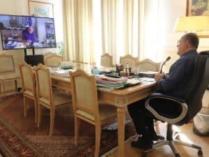 Σε τηλεδιάσκεψη του Δ.Σ. της ΕΝΠΕ μετείχε ο περιφερειάρχης Πελοποννήσου Π. Νίκας