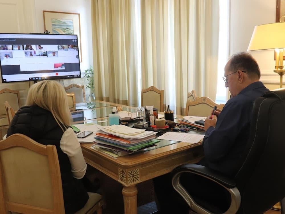 Ο περιφερειάρχης Π. Νίκας μετείχε σε συνεδρίαση της Διαρκούς Επιτροπής Δημόσιας Διοίκησης, Δημόσιας Τάξης και Δικαιοσύνης της Βουλής
