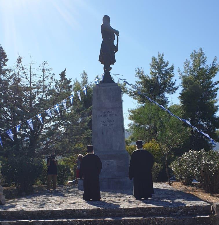 Τιμήθηκε η μνήμη του Νικηταρά στο Χιλιομόδι