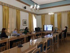 Παρουσίαση οπτικο-ακουστικού υλικού το οποίο προορίζεται για την τουριστική ιστοσελίδα της Περιφέρειας Πελοποννήσου