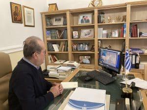 Χρηματοδότηση του άξονα Κακαβιά – Καλαμάτα μέσω του Ταμείου Ανάκαμψης ζητεί ο περιφερειάρχης Π. Νίκας από τον υπουργό Κ. Καραμανλή