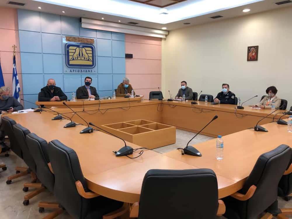 Τηλεδιάσκεψη από την Π.Ε. Αργολίδας για το θέμα της covid-19 και τις αγροτικές εργασίες