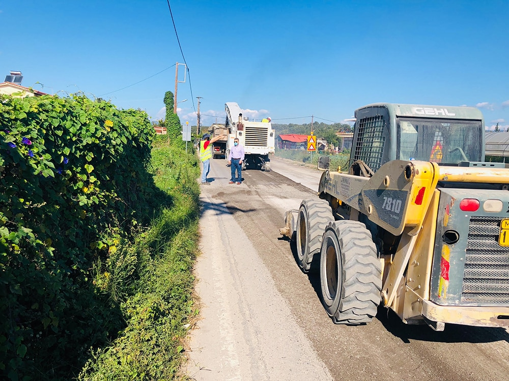 Σε εξέλιξη έργο βελτίωσης στην εθνική οδό Μεσσήνη - Πύλος