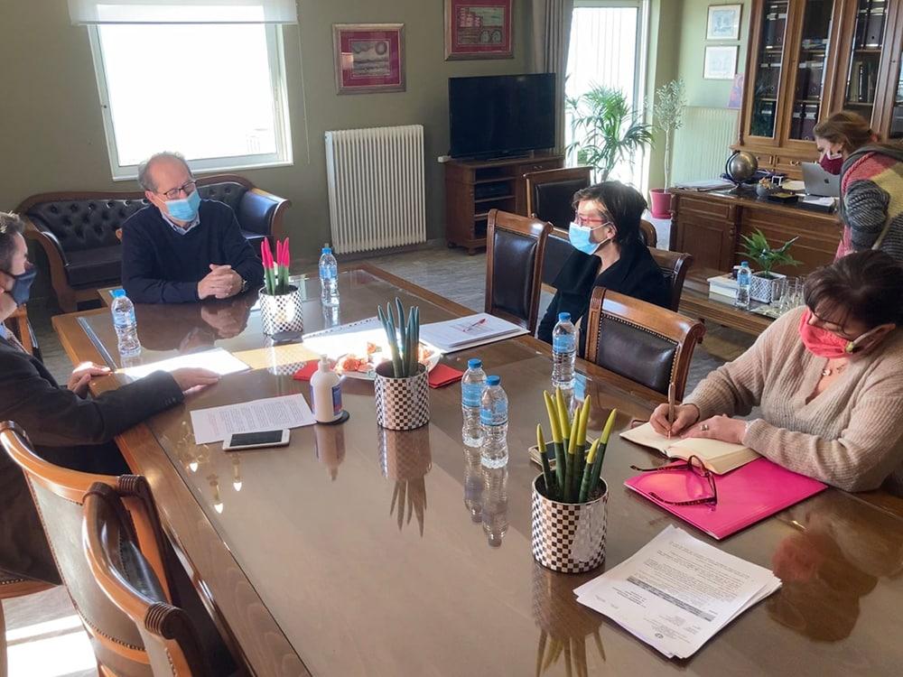 Σύσκεψη στο Ναύπλιο υπό τον περιφερειάρχη Π. Νίκα για το Διοικητήριο της Π.Ε. Αργολίδας -υπογραφή συμβάσεων καθαρισμού ρεμάτων