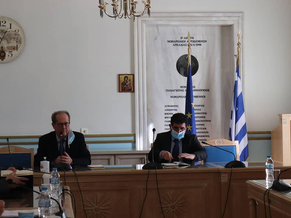 Σημαντικές εξελίξεις στον σιδηρόδρομο στην Περιφέρεια Πελοποννήσου κατά την σύσκεψη του περιφερειάρχη Π. Νίκα με τον διευθύνοντα σύμβουλο του ΟΣΕ Θ. Κοτταρά