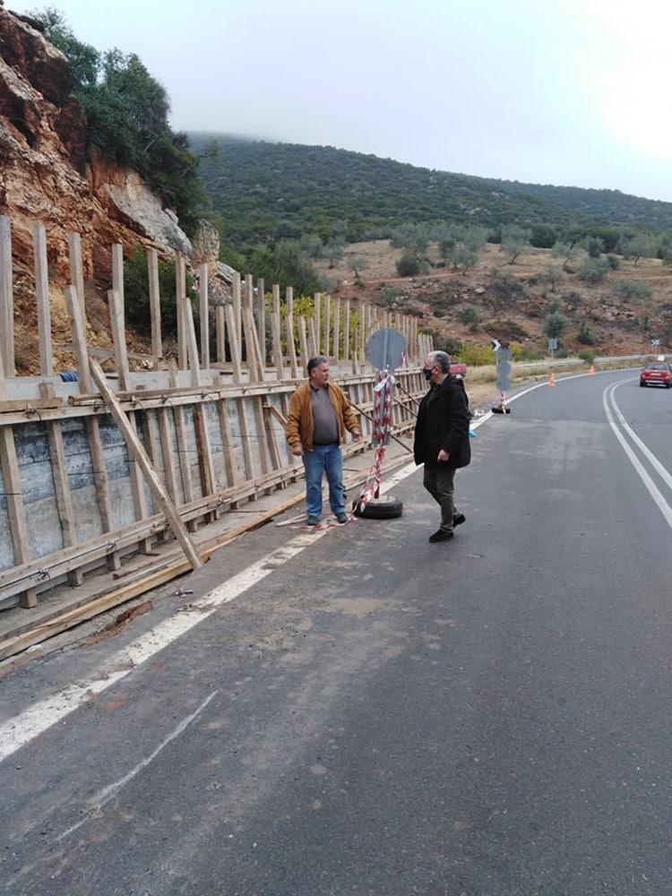 Αυτοψία στην περιοχή Δολιανών, στον δρόμο Τρίπολη - Αστρος