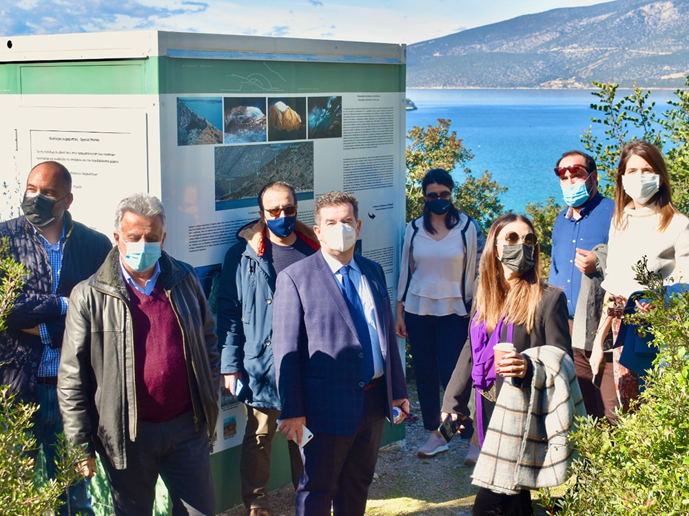 Συνάντηση για τουριστικά και άλλα θέματα του Δήμου Ερμιονίδας