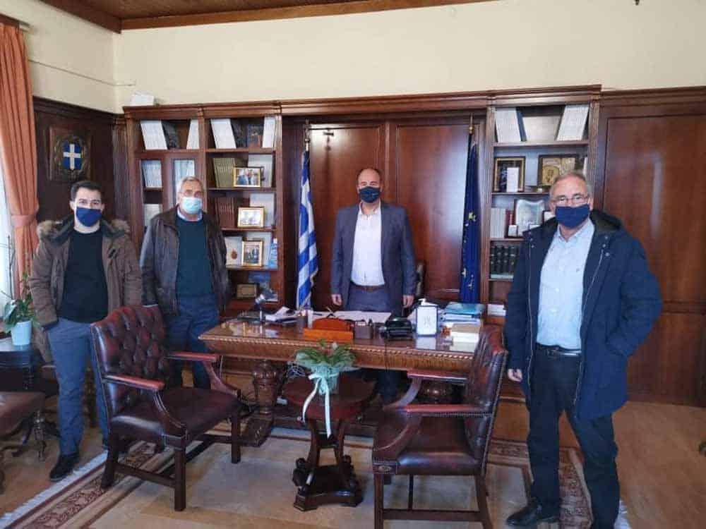 ργα του Δήμου Νεμέας στη συνάντηση των τοπικών φορέων με αντιπεριφερειάρχες στην Π.Ε. Κορινθίας