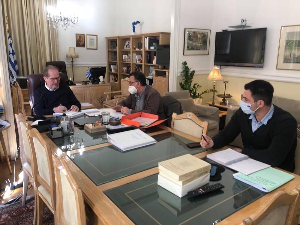 Τηλεδιάσκεψη για την Πολιτική Προστασία στην Περιφέρεια Πελοποννήσου