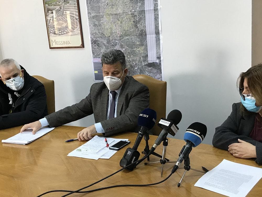 Ενημέρωση από τον αντιπεριφερειάρχη Μεσσηνίας για τον αναδασμό στον Δήμο Οιχαλίας