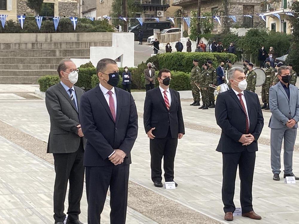 Παρουσία της Προέδρου της Δημοκρατίας τιμήθηκε στη Νέα Επίδαυρο η 199η επέτειος της Α΄ Εθνοσυνέλευσης των Ελλήνων