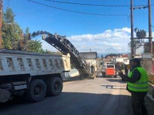 Εναρξη έργου οδοποιίας στην 82η εθνική οδό