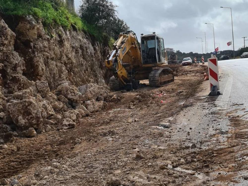 Εντατικοί ρυθμοί στο έργο διαπλάτυνσης του δρόμου Φιλιατρά – Κυπαρισσία