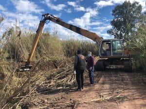 Καθαρισμοί στην κάτω ζώνη ΓΟΕΒ, στην περιοχή της Μπούκας