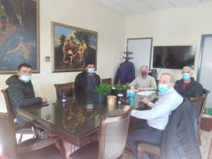 Αυτοδιοικητικούς από τις Δημοτικές Κοινότητες Τρίπολης συνάντησε ο αντιπεριφερειάρχης Αρκαδίας