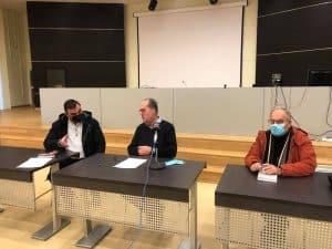 Συμβάσεις έργων περί τα 5,5 εκ. ευρώ στη Λακωνία υπέγραψε ο περιφερειάρχης Πελοποννήσου Π. Νίκας σήμερα στη Σπάρτη