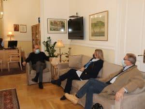 Το θέμα της ΠΟΠ Νεμέας σε συνάντηση του περιφερειάρχη Π. Νίκα με τη βουλευτή Μαριλένα Σούκουλη