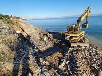 Ξεκίνησαν τα έργα για την αντιδιαβρωτική προστασία στον Κορινθιακό Κόλπο