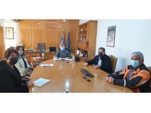 Συνάντηση του αντιπεριφερειάρχη Μεσσηνίας με εκπροσώπους του Σελλά