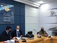 Συμβάσεις συνολικού προϋπολογισμού 2.430.000 ευρώ στην Π.Ε. Αργολίδα υπέγραψε ο περιφερειάρχης Πελοποννήσου Π. Νίκας