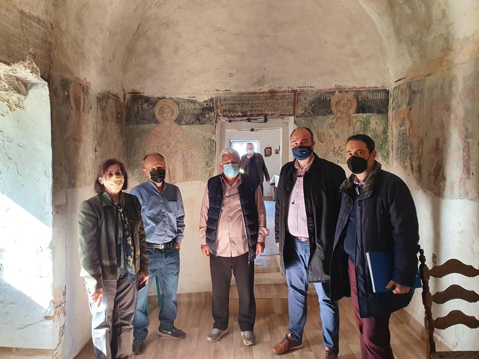 Επισκέψεις σε μνημεία στην περιοχή των Αθικίων