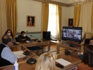 Τηλεδιάσκεψη για τα έργα του ΕΣΠΑ στην Π.Ε. Αργολίδας
