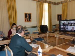 Η πορεία των έργων ΕΣΠΑ αντικείμενο τηλεδιάσκεψης υπό τον περιφερειάρχη Πελοποννήσου Π. Νίκα