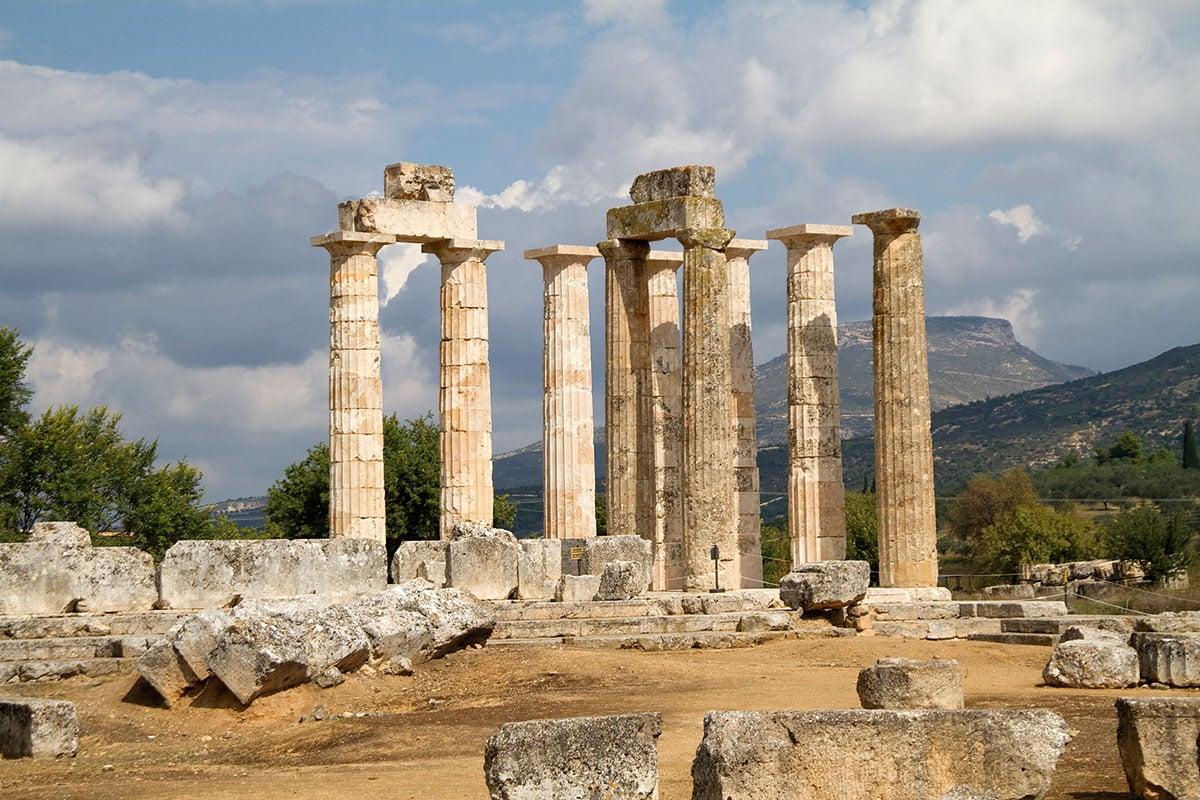 Κορινθία - Αρχαια Νεμέα