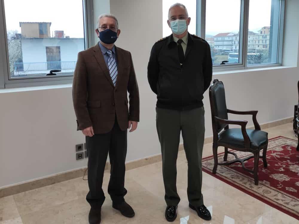 Συνάντηση στην Π.Ε. Αρκαδίας με τον νέο διοικητή ΔΙΚΕ
