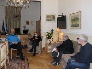 Η Περιφέρεια Πελοποννήσου θα συμβάλει στις σωστικές εργασίες των στοιχείων στα υπόγεια του Δικαστικού Μεγάρου Τρίπολης