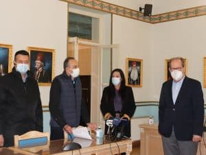 Συνάντηση Περιφερειάρχη με εκπροσώπους Σχολών Οδηγών Πελοποννήσου