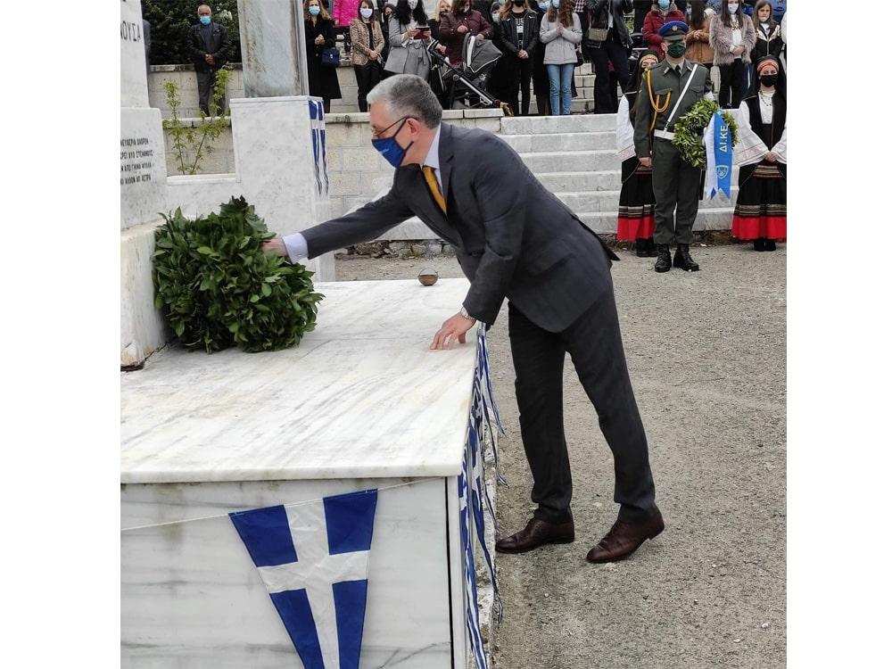 Στη 200η Επέτειο της Μάχης του Λεβιδίου ο Αντιπεριφερειάρχης Χρήστος Λαμπρόπουλος