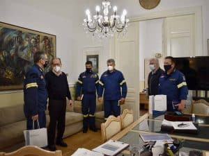 Επίσκεψη Συντονιστή Πυροσβεστικής Πελοποννήσου, Δυτικής Ελλάδος & Ιονίων Νήσων