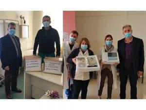 Καρδιογράφοι παραδόθηκαν σε Κέντρα Υγείας της Π.Ε. Μεσσηνί
