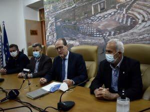 Την Προγραμματική Σύμβαση για το Γήπεδο του Μεσσηνιακού υπέγραψε ο Περιφερειάρχης
