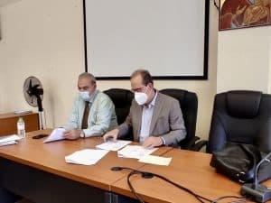 Προγραμματική Σύμβαση για το Λιμάνι της Κυπαρισσίας υπέγραψε ο Περιφερειάρχης