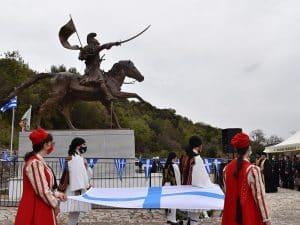 Εορτασμός εις ανάμνησιν της ημερομηνίας γέννησης του εμβληματικού Ήρωα Θεόδωρου Κολοκοτρώνη στο Ραμοβούνι