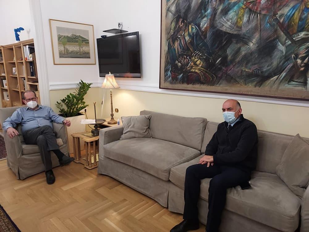 Συνάντηση Περιφερειάρχη με τον Περιφερειακό Αστυνομικό Διευθυντή Πελοποννήσου