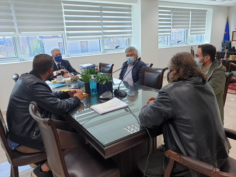 Συνάντηση με το Προεδρείο του Αγροτικού&Κτηνοτροφικού Συνεταιρισμού Αρκαδίας