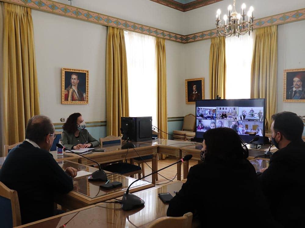 Σύσκεψη για την οργάνωση της νομικής υπηρεσίας της Περιφέρειας