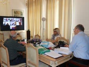 Η οργάνωση της ΥΕΒ σε σύσκεψη του περιφερειάρχη Π. Νίκα με τους διευθυντές ΔΑΟΚ