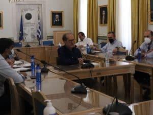 Τηλεδιάσκεψη του περιφερειάρχη Π. Νίκα με την ΤΕΡΝΑ για την ΣΔΙΤ της διαχείρισης απορριμμάτων
