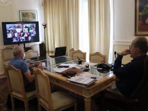 """Τηλεδιάσκεψη με τον υπουργό Αγροτικής Ανάπτυξης, """"να εξεταστεί σοβαρά το θέμα των ΠΟΠ"""" σημείωσε ο περιφερειάρχης Πελοποννήσου Π. Νίκας"""