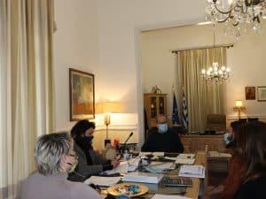Τηλεσύσκεψη για θέματα Τουρισμού υπό τον περιφερειάρχη Πελοποννήσου Π. Νίκα