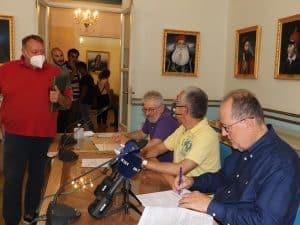 Συμβάσεις για 6 έργα στην Αρκαδία, προϋπολογισμού 1,5 εκ. ευρώ, υπέγραψε ο περιφερειάρχης Πελοποννήσου Π. Νίκας